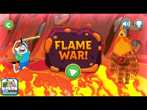 Adventure Time: Elemental – Flame War – Fiery Fight with Flame King (Cartoon Network Games)