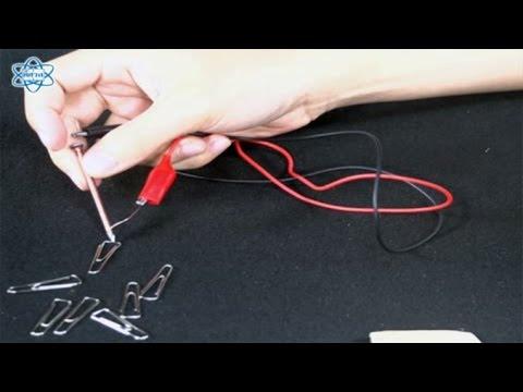 แม่เหล็กไฟฟ้าเกิดขึ้นได้อย่างไร วิทยาศาสตร์ ป.6
