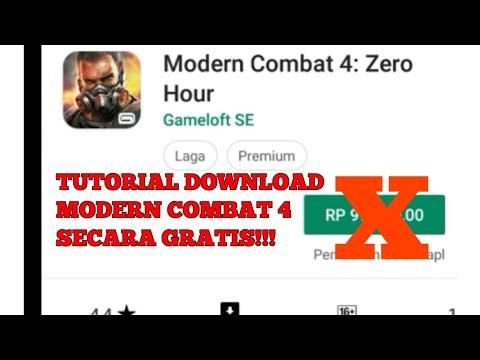 SUUNG TUTORIAL - Cara Download Game Modern Combat 4 Secara Gratis Tanpa Bayar