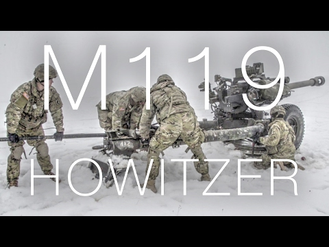 Army M119 Howitzer – Artillery Gunnery Table XVIII In German Snow