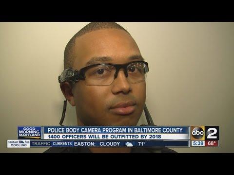 Baltimore County Police announce body camera program