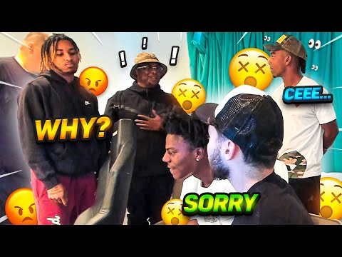Adin & iShowSpeed say SORRY After they Try PRANKING DDG... **Awkward**