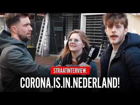 BANG VOOR CORONAVIRUS?! (Hilversum)   Straatinterview   RUMAGTV