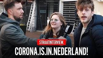 BANG VOOR CORONAVIRUS?! (Hilversum) | Straatinterview | RUMAGTV