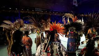 GATHERING OF NATIONS POW WOW 2019:  Grand Entry Honor Song