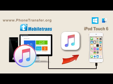 How to Sync iTunes Music to iPod Touch 6 Without iTunes, Import Songs to iPod Touch 6