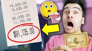 I Gave My CREDIT CARD Away For 24 HOURS And it Was A TERRIBLE IDEA! (SPENT SO MUCH)