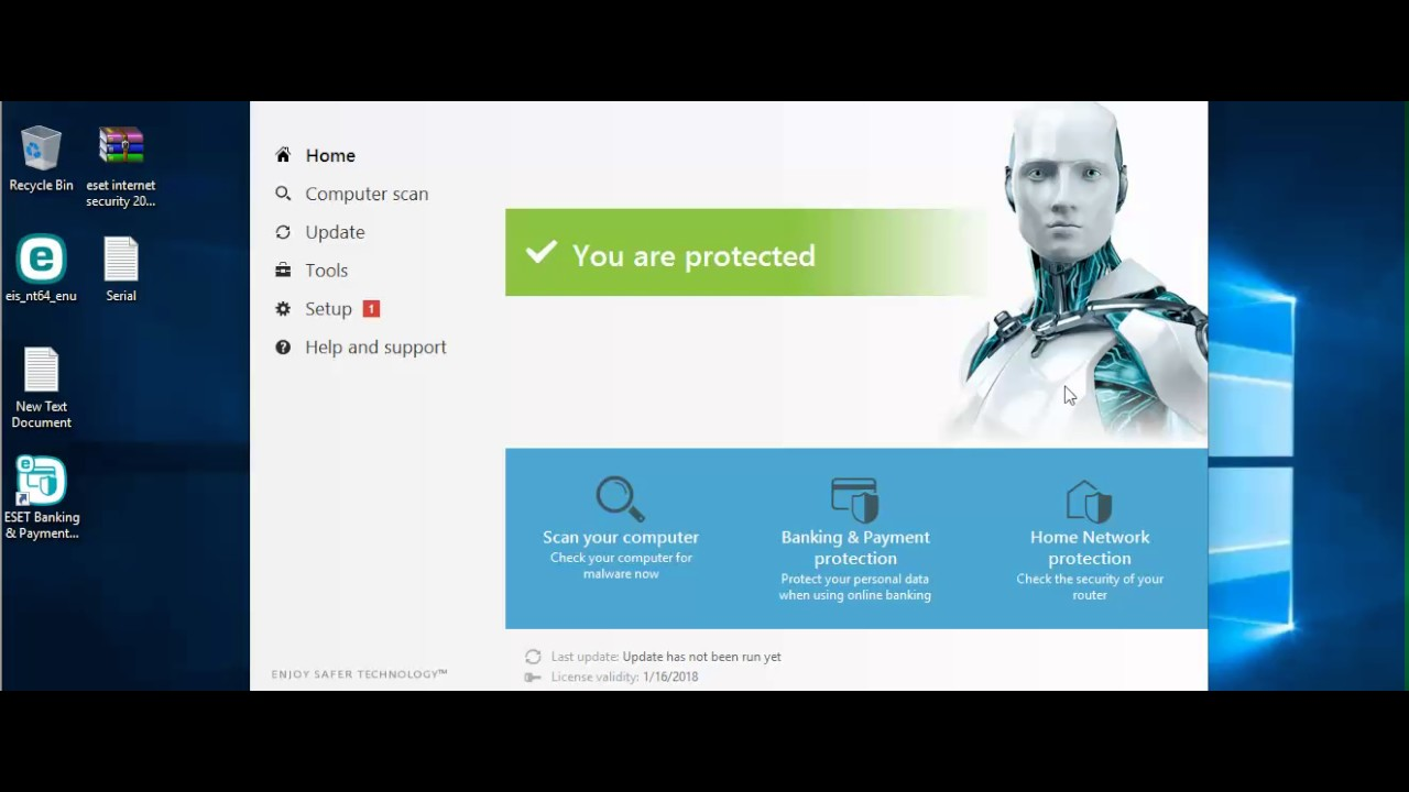 eset smart security crack 10
