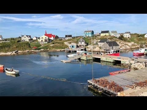 Tour Of Peggy's Cove, Nova Scotia, Canada