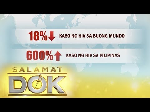 Salamat Dok: Increasing rate of HIV cases in the country