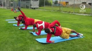 قناة لخويا | تدريبات الفريق في معسكر النمسا 2016  [2]
