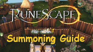 1-99 Summoning Training Guide [Runescape 2015]