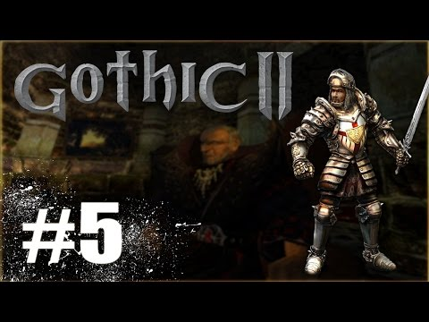Gothic II #5 - Wynajem u najemników