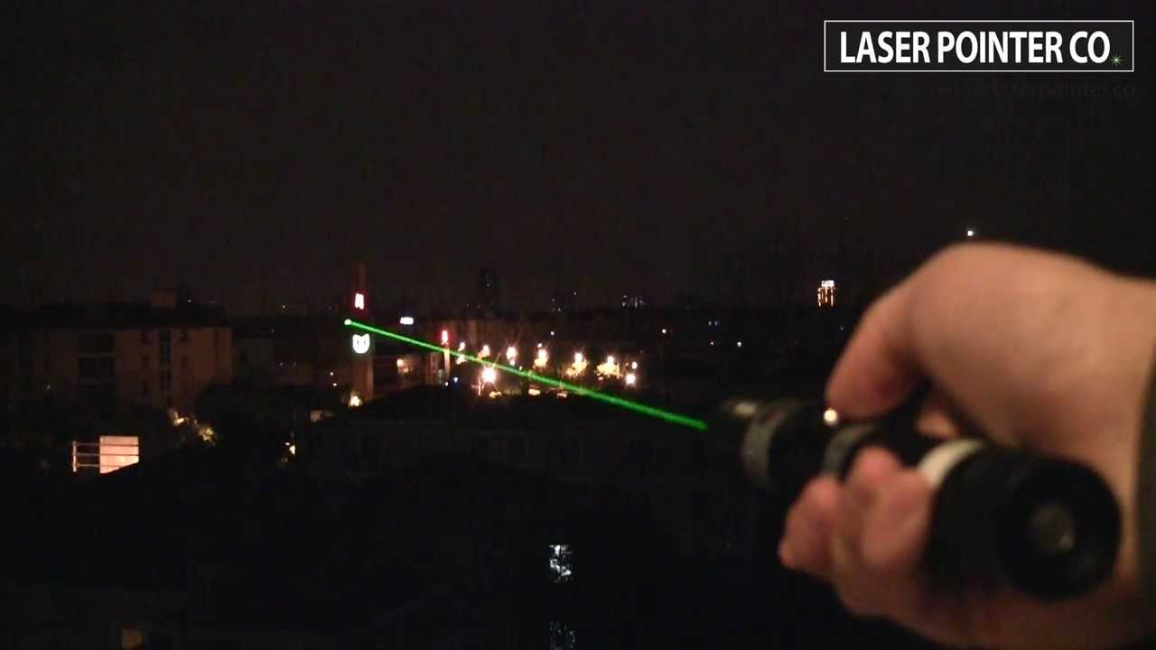 fd4105a65d0 500mW 532nm Green Laser Pointer | SKY Technologies - YouTube