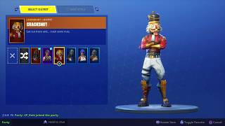 $120 FORTNITE ACCOUNT! CRACKSHOT & SEASON 2 BATTLE PASS SKINS! (DM Twitter @MicksYT)