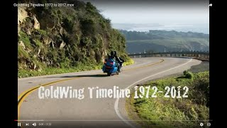GoldWing Timeline 1972 to 2012.mov