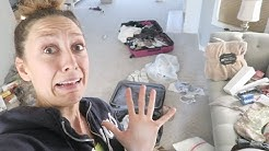 How to clean a CRAZY MESSY house!! + tackle OVERWHELM!
