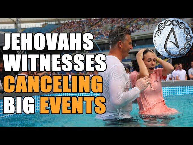 Jehovahs Witnesses NOT DOING BAPTISMS?