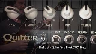 Tim Lerch - Quilter Tone Block 202 Blues