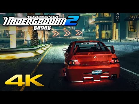 NFS Underground 2 REDUX | The Ultimate Graphics Mod in 4K Ultrawide