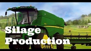 Farming Simulator 2015 ( Feeding Cows episode #3 ) [ Silage Production ]