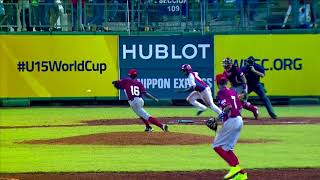 Highlights: Panama v Cuba - U-15 Baseball World Cup