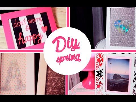 ✿ Весенний DIY ✿ Идеи дизайна комнаты ✿