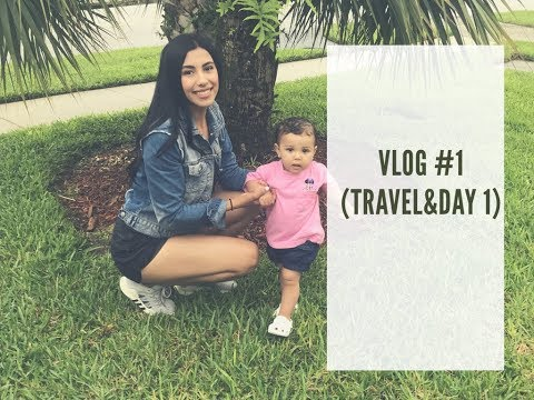 vlog | orlando travel and day 1