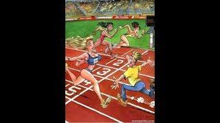 Смешные картинки и весёлые карикатуры про спрорт