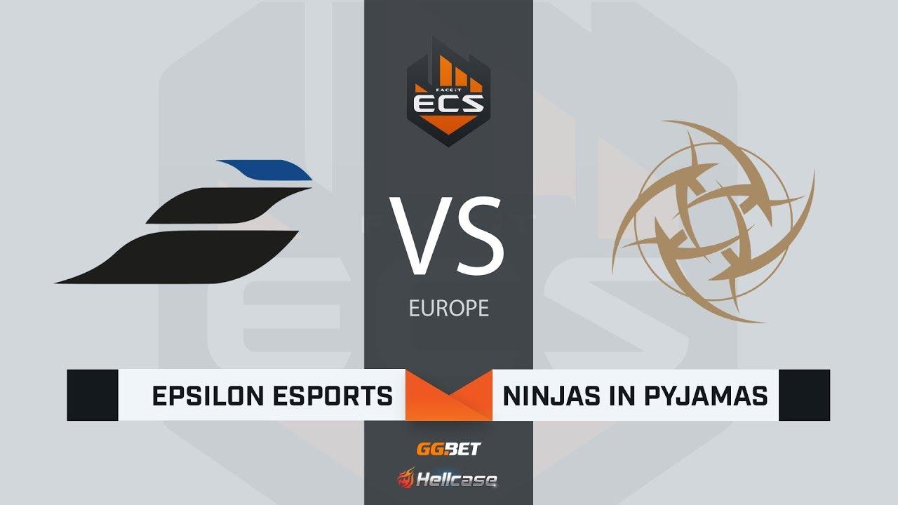 [RU] Epsilon vs NiP | Map 2 – Inferno | ECS Season 7 Europe