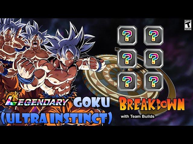 Lr Agl Ultra Instinct Breakdown W Team Builds 6yr Anniv Jp Dragon Ball Z Dokkan Battle Youtube