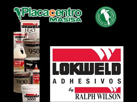 # 34 PEGAMENTOS LOKWELD RALPH WILSON