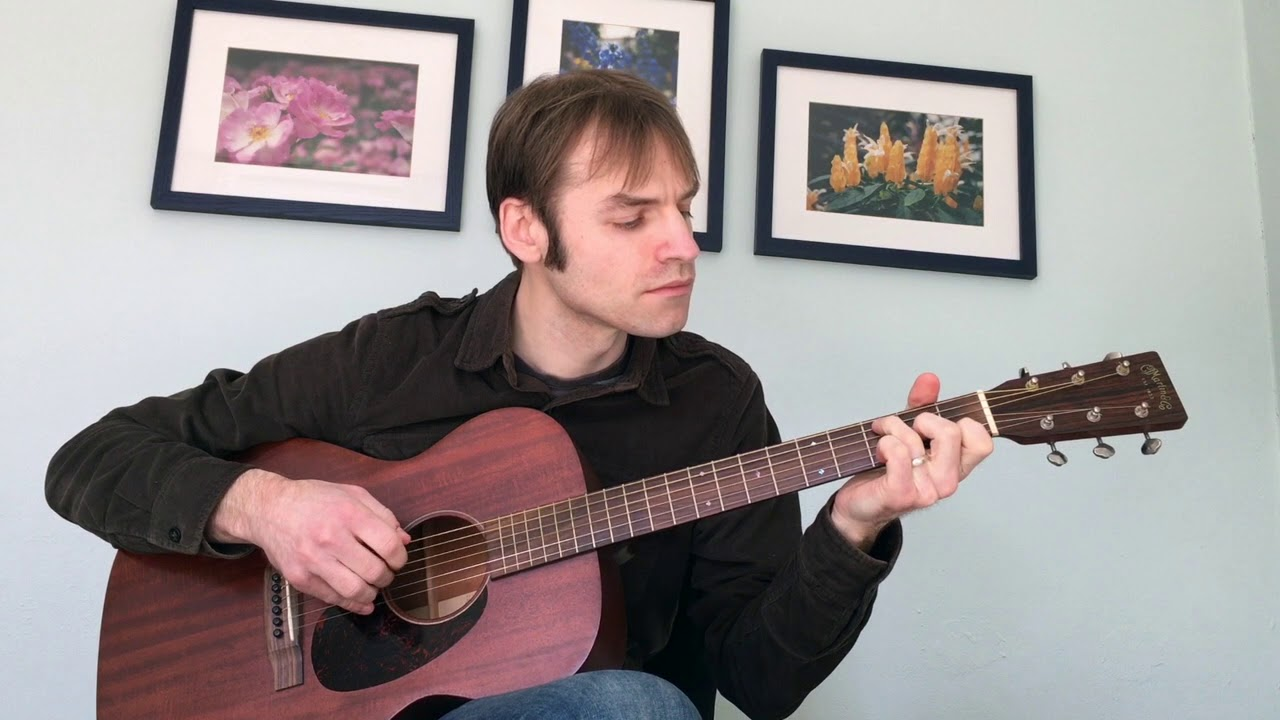 """As Time Goes By"""" fingerstyle guitar - Adrian Holovaty"""