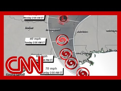 Louisiana braces for epic flooding from Tropical Storm Barry