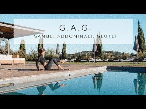 GAG: Esercizi Per Gambe, Addominali E Glutei