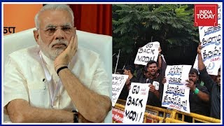 'Go Back, Modi' Slogans Chanted On PM Modi's Arrival In Chennai For Defence Expo