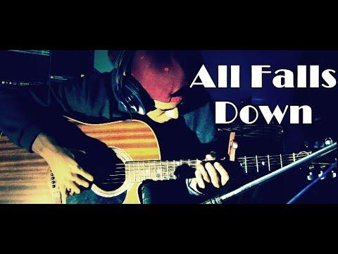 Alan Walker All Falls Down Ftah Cyrus Fingerstyle Guitar Cover