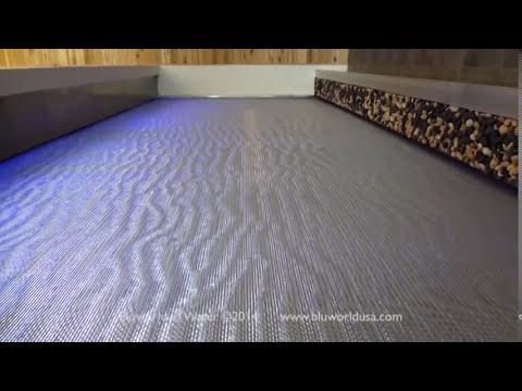 Stainless Steel Mesh Indoor Custom Waterfall for Keurig Green Mountain, Inc.