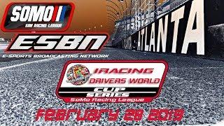 SOMO Racing League   iRacing World Cup Series at Atlanta
