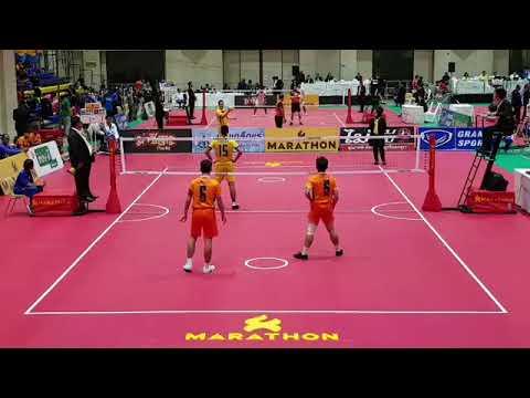 Thailand Vs Laos - Sepak Takraw 32nd King's Cup (2017)