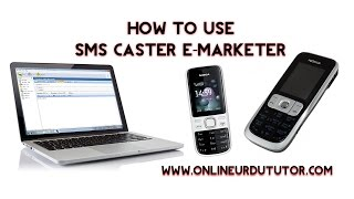How To Use SMS Caster E-Marketer With Nokia C2-01 In Urdu