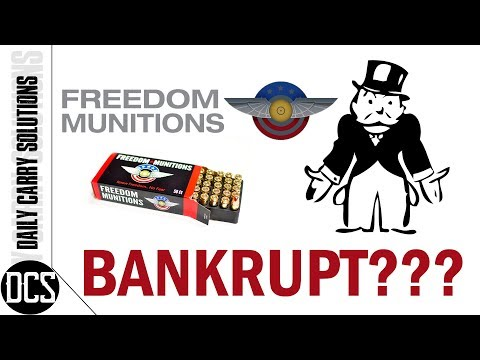 Freedom Munitions - Bankrupt ?!?!?!?