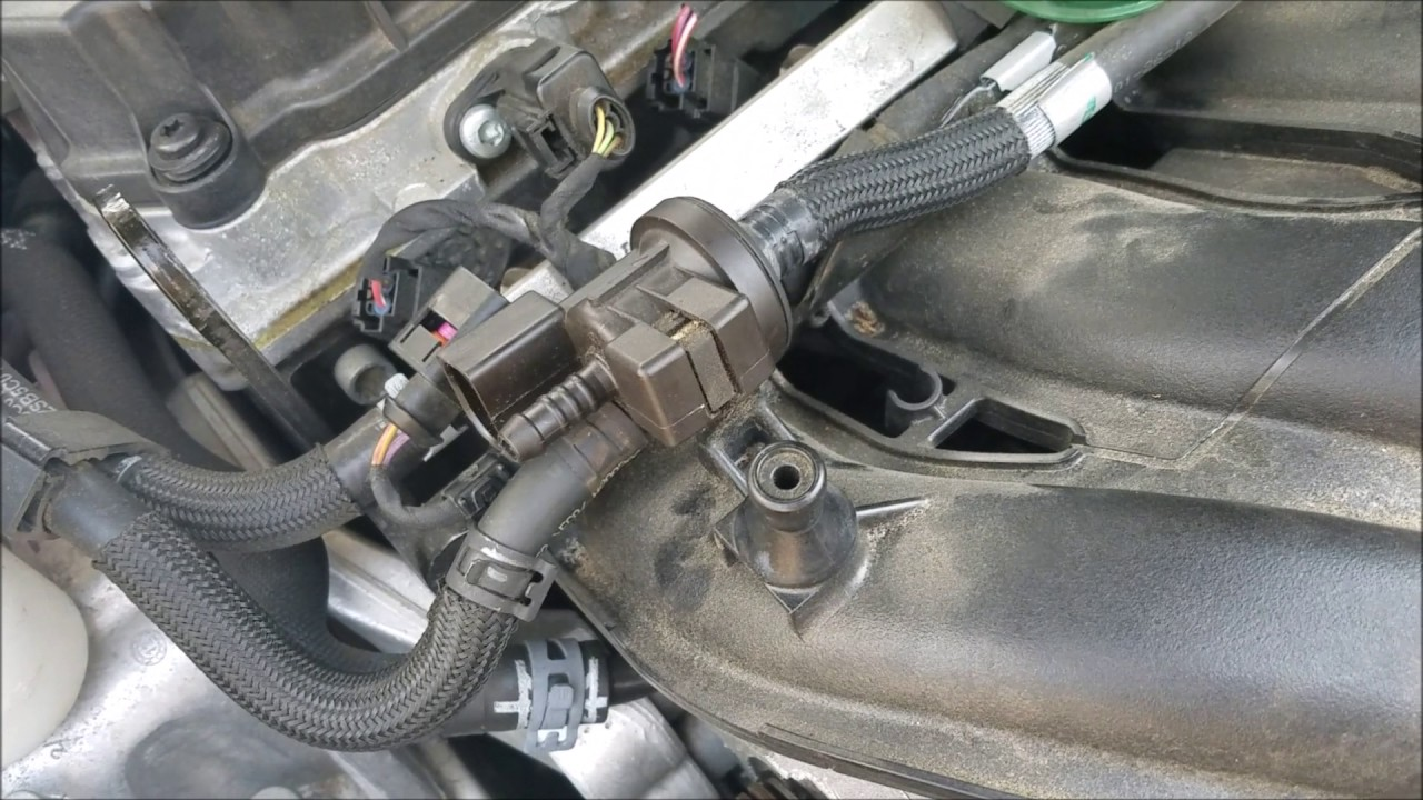 VW Passat 2013 Purge Valve YouTube