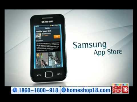 HomeShop18 - Wave Full Touch Phone S5253 by Samsung