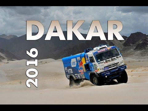 Команда КАМАЗ-мастер на ралли Dakar 2016