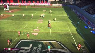 Rugby League Live 3 - My First Game!