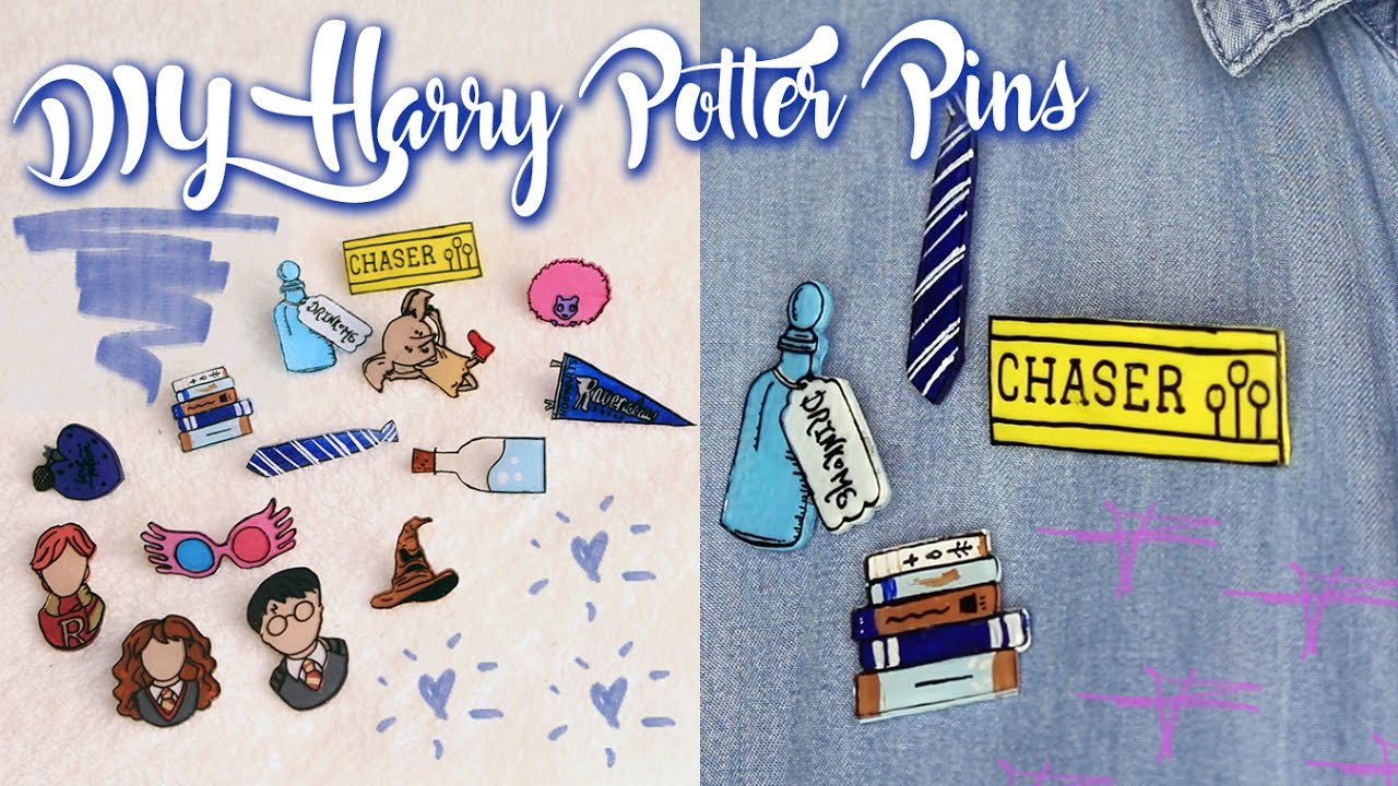 DIY Harry Potter Pins