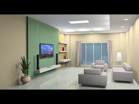 Interior Design Tutorial Using Google Sketchup Youtube