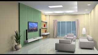 Interior design tutorial using Google Sketchup