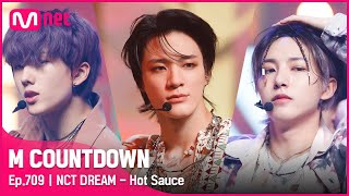 [NCT DREAM - Hot Sauce] Comeback Stage | #엠카운트다운 | Mnet 210513 방송